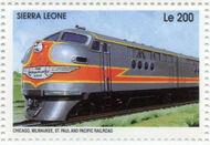 Sierra Leone 1995 Railways of the World f
