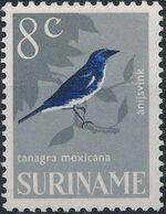 Surinam 1966 Birds g