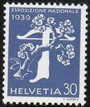 Switzerland 1939 National Exposition of 1939 m