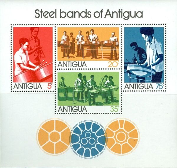 Antigua 1974 Traditional Steel Bands of Antigua g