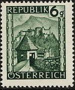 Austria 1945 Landscapes (I) c
