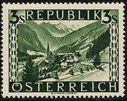 Austria 1946 Landscapes (II) r