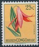 Belgian Congo 1952 Flowers d
