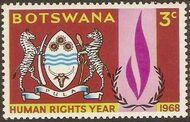 Botswana 1968 International Human Rights Year a
