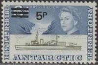 British Antarctic Territory 1971 Definitives Decimal Currency h
