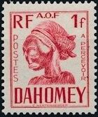Dahomey 1941 Carved Mask h