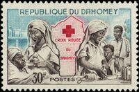 Dahomey 1962 Red Cross d