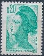 France 1982 Liberty after Delacroix (1st Issue) d