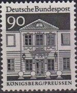 Germany, Federal Republic 1966 Building Structures from Twelve Centuries (1st Group) c