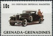 Grenada Grenadines 1983 The 75th Anniversary of Ford T a