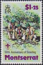 Montserrat 1979 50th Anniversary of Scouting in Montserrat c