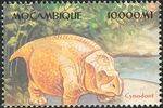 Mozambique 2002 Dinosaurs z