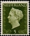 Netherlands 1948 Queen Wilhelmina - Type Hartz a