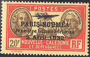 New Caledonia 1933 Definitives of 1928 Overprinted z