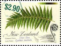 New Zealand 2013 New Zealand Native Ferns e