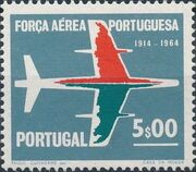 Portugal 1965 50th Anniversary of the Portuguese Air Force c