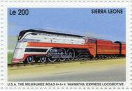 Sierra Leone 1995 Railways of the World ka