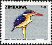 Zimbabwe 2007 Birds from Zimbabwe c