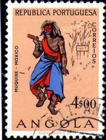 Angola 1957 Indigenous Peoples of Angola k