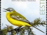 Estonia 2006 Bird of the Year - The Yellow Wagtail
