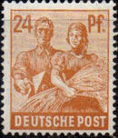 Germany-Allied Occupation 1947 2nd Allied Control Council Issue g