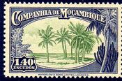 Mozambique company 1937 Assorted designs o