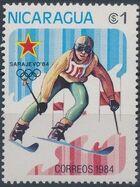 Nicaragua 1984 Winter Olympics - Sarajevo' 84 d