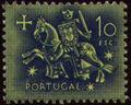 Portugal 1953 Definitives - Medieval Knight o.jpg