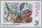 "Spain 1998 Scenes from ""Don Quixote"" g"