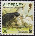 Alderney 2000 WWF Peregrine Falcon d.jpg