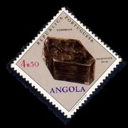Angola 1970 Fossils and Minerals from Angola i
