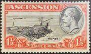 Ascension 1934 George V and Sights of Ascension c