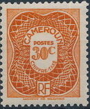Cameroon 1947 Postage Due Stamps d