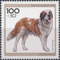 Germany-Unified 1996 Dogs c