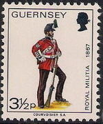 Guernsey 1974 Military Uniforms Definitive Issue g
