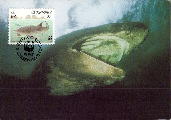 Guernsey 1990 WWF Marine Life s