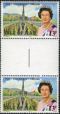 Isle of Man 1979 Visit of Queen Elizabeth II and Celebration of Millennium of Tynwald q