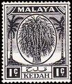 Malaya-Kedah 1950 Definitives a