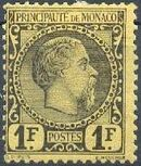 Monaco 1885 Prince Charles III i
