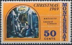 Montserrat 1969 Christmas c
