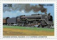 Sierra Leone 1995 Railways of the World ha