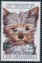 St Vincent and the Grenadines 1994 Chinese New Year - Year of the Dog b