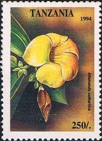 Tanzania 1995 Wild Flowers e