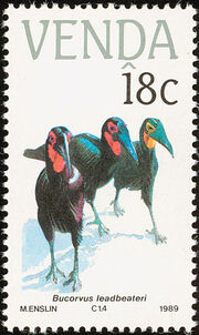 Venda 1989 Endangered Birds a