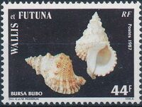 Wallis and Futuna 1987 Sea Shells d