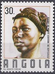 Angola 1987 Traditional Hairstyles f