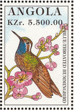 Angola 1996 Hummingbirds b