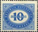 Austria 1947 Postage Due Stamps - Type 1894-1895 with 'Republik Osterreich' zb