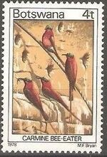 Botswana 1978 Birds of Botswana d