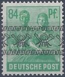 British and American Zone 1948 Overprinted with Posthorn Ribbon o